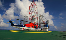 Working Offshore,The Helicopte...