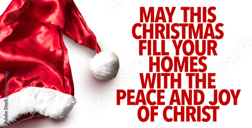 May This Christmas Fill Your Homes With the Peace and Joy of Christ ...