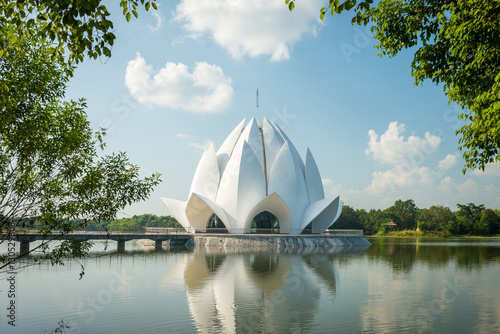 Photo Stands Lotus flower Lotus-shaped pagoda