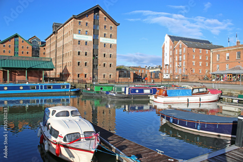 Fotografia, Obraz  Gloucester Docks