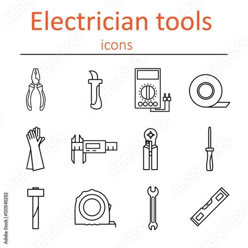 Electrician Tools Diagram Data Wiring Diagram Preview