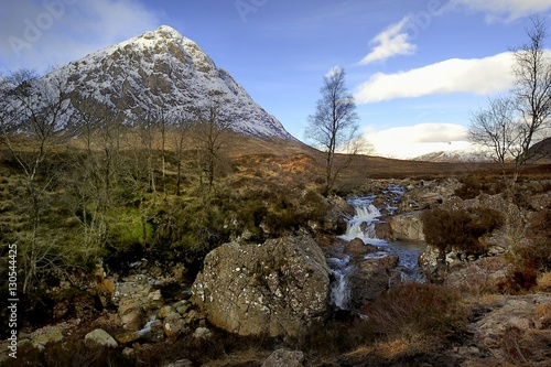 Spring at Buachille Etive Moor Canvas Print