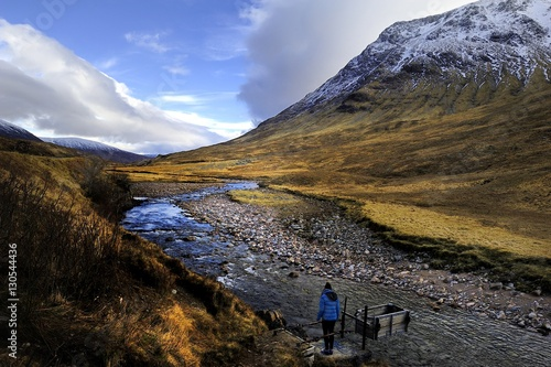 Photo  Spring at Buachille Etive Moor