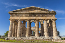 Front View Of Greek Temple Of ...