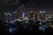 Aerial Downtown Miami Florida