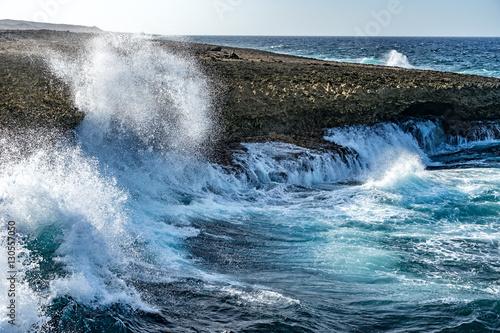 Poster Zee / Oceaan Shete Boka National park