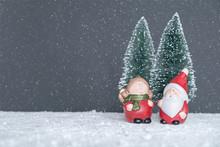Mr. & Mrs. Santa Claus