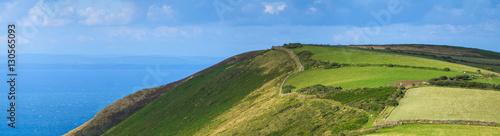Foto auf Leinwand Nordeuropa Tranquil landscape of North Devon coast. England