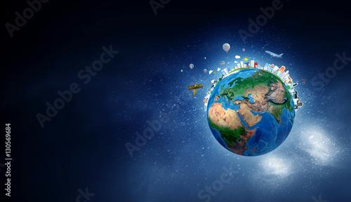 Nasza planeta Ziemia. Różne środki przekazu