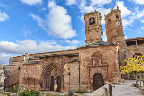 Iglesia de la Santísima Trinidad y Santa María y Torre del Tardón de la Lonja de Santo Domingo de Alcaraz, Albacete, España