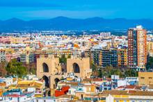 Aerial View Of Serranos Towers...