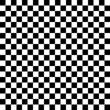 Seamless B&w Classic Punk Checkered Pattern. Checkered Board Vector Pattern. Minimalist Modernist.