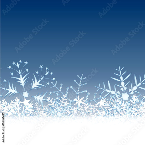 Carte Decor Hivernale Glace Neige Buy This Stock Illustration