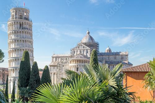 Obraz na płótnie Piazza dei Miracoli