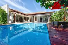 Exterior Modern Tropical Villa...