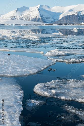 Papiers peints Arctique Glacier landscape in Iceland