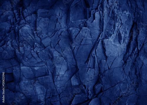 Foto auf Leinwand Texturen Dark blue slate background