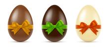 Oeufs En Chocolat Vectoriels 2