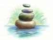 Meditation stones