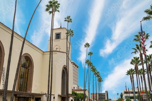 Keuken foto achterwand Los Angeles Union Station in Los Angeles