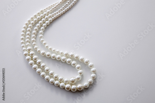 Foto  pearls necklace