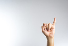 Promise Hand Sign