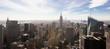 Vista dell'Empire State Building di New York dal Top of the Rock