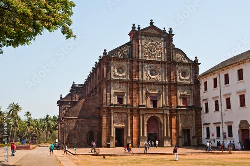 Poster Monument Basilica of Bom Jesus, Old Goa, India