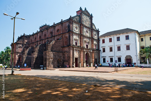 Staande foto Monument Basilica of Bom Jesus, Old Goa, India