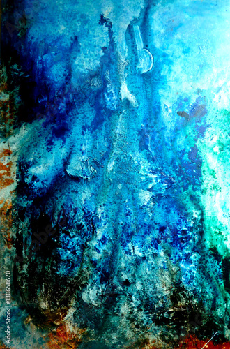 Photo sur Toile Les Textures abstract, painting, art, artwork, abstract painting
