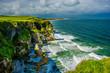 Küste mit Klippen bei Portrush in Nordirland