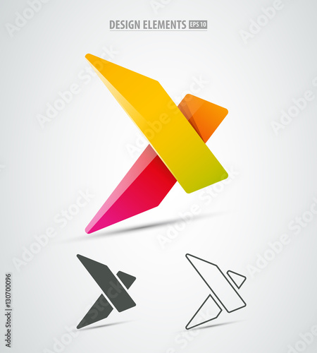 vector extreme corporate identity icon logo design simple and clean x letter buy this stock vector and explore similar vectors at adobe stock adobe stock vector extreme corporate identity icon