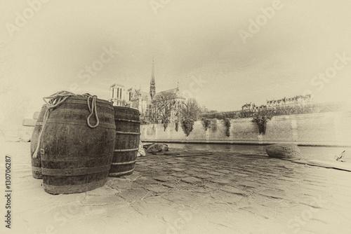 Photographie  The city of Paris france