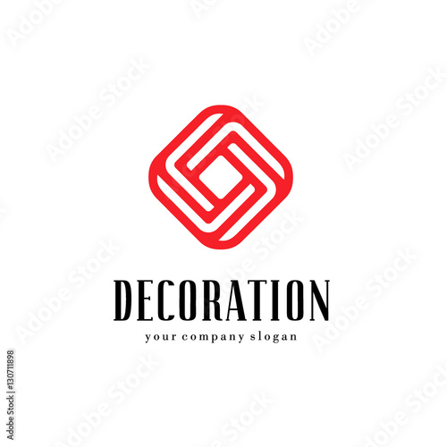 Vector Logo For Interior Furniture Shops Decor Items And Home