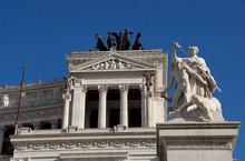Vittoriano Monument In Rome