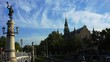 Nordiska museet. Museum of Ethnography in Stockholm. Sweden. Shot in 4K (ultra-high definition (UHD)).