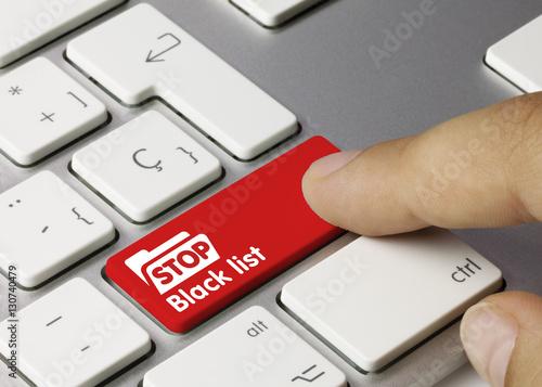 Photo Stop Black list