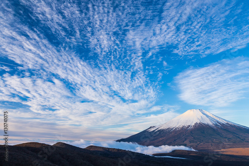 Photo sur Aluminium Reflexion The Mt.Fuji. Shot in the early morning.