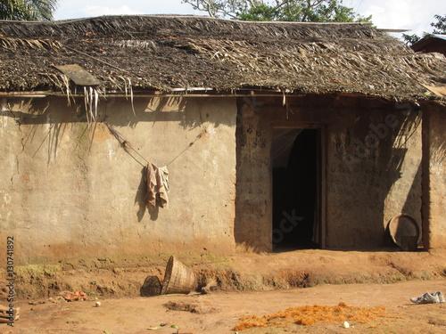 Fotografie, Obraz  African Village House