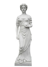 Marble Statue Isolated