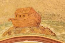 Noah's Ark - Fresco At Loreta, Prague