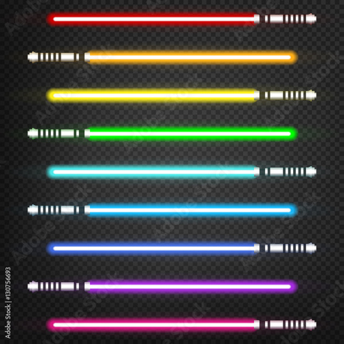 Light swords set Canvas-taulu