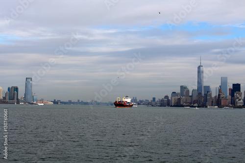 Fotografía  Blick auf New York und New Jersey