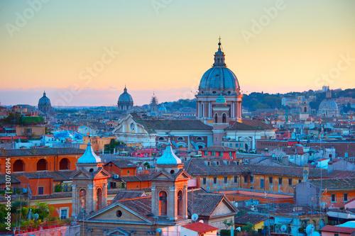 Obraz Rzym o zmierzchu, Włochy - fototapety do salonu