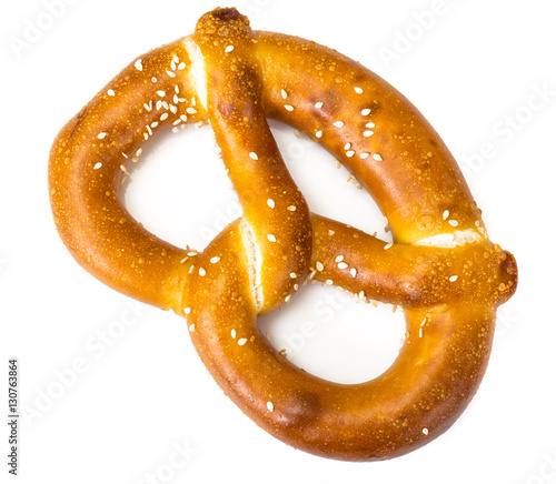 Photo Pretzels traditional German beer snack
