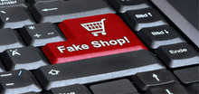 Eks62 EnterKeySign - English: Keyboard With Red Key Shopping Cart - Fake Shop! - Online-Shop - G4819