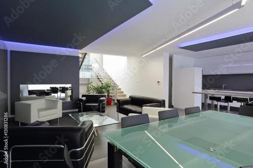 salon salle à manger design épuré contemporain – kaufen Sie dieses ...
