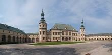 Bishops Palace In Kielce, Poland