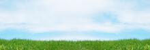 草原のバナー素材