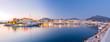 canvas print picture - Marbella landscape (Puerto Banus)